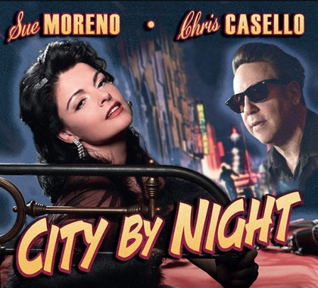CD City by Night - Sue Moreno